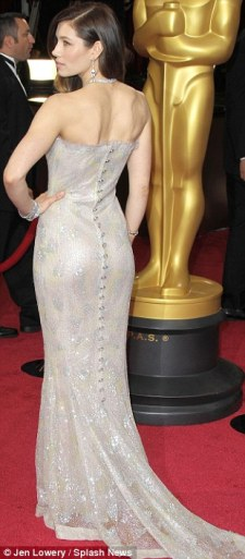 Jessica Biel in Chanel